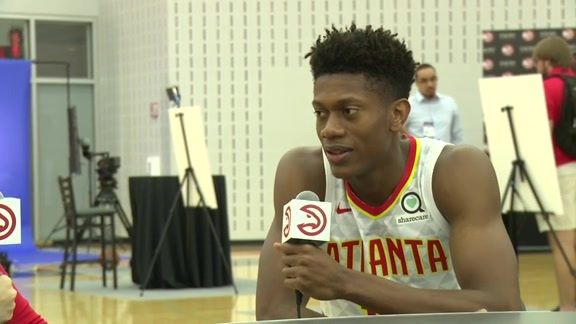 Media Day: One-on-One With De'Andre Hunter