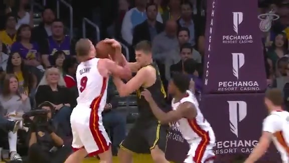 Defensive Highlights vs Lakers (3/16/18)