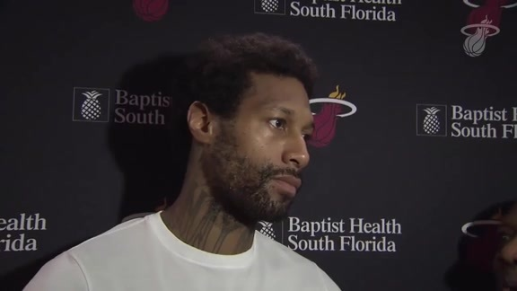 Shootaround: James Johnson (3/21/18)