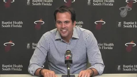 Exit Interview: Erik Spoelstra (4/27/18)