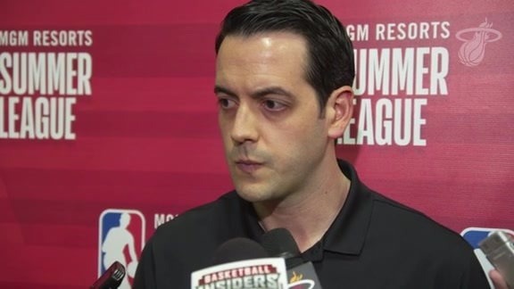 Summer League Postgame: Eric Glass (7/7/18)