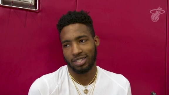 Summer League Practice: Derrick Jones Jr. (7/9/18)