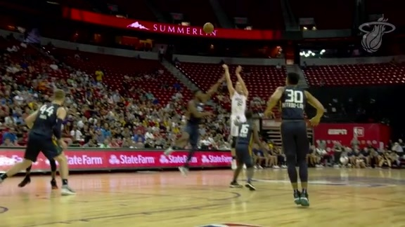 Jazz vs. HEAT Summer League Video Recap (7/10/18)