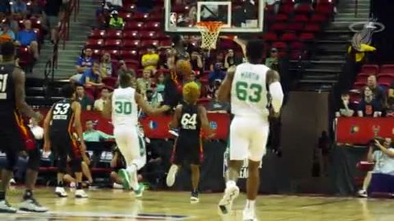 HEAT vs. Celtics Summer League Video Recap (7/14/18)
