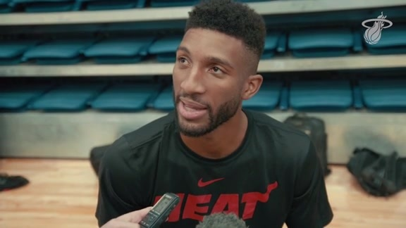 Training Camp Day 4: Marcus Lee