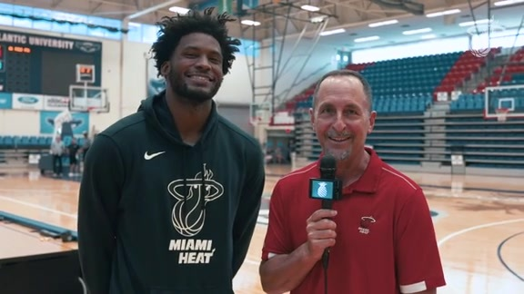 Training Camp Day 4: Eric Reid 1-on-1 with Justise Winslow