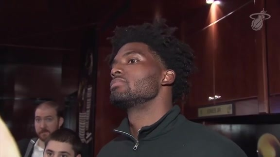 Postgame: Justise Winslow (10/12/18)
