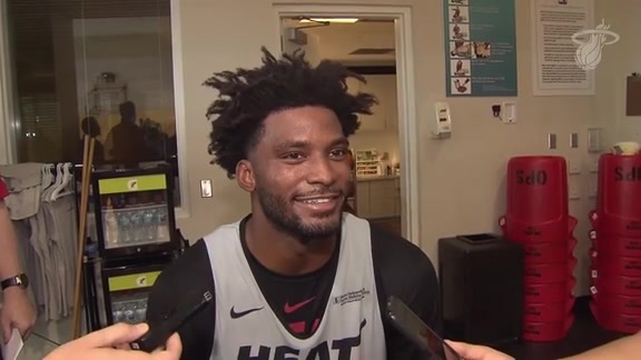 Practice: Justise Winslow (10/23/18)