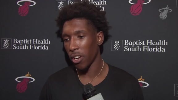 Shootaround: Josh Richardson (11/12/18)