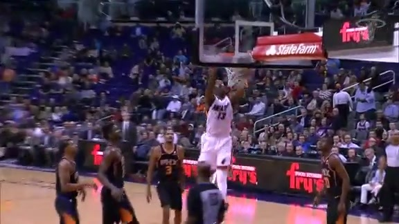 Adebayo First Half Highlights vs Suns (12/7/18)