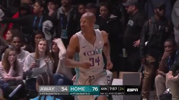 All-Star Celebrity Game Highlights: Ray Allen (2/15/19)