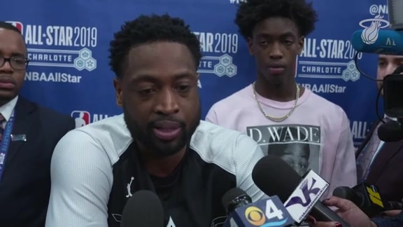 All-Star 2019: Wade Post-Game