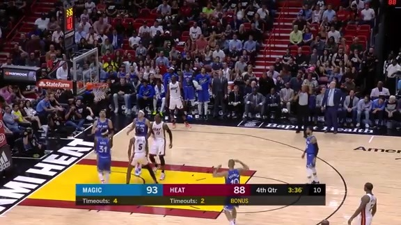 Jones Jr. Finish With Contact