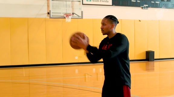 Train Like A Pro Presented By Baptist Health South Florida: Shooting With McGruder