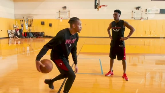 Train Like A Pro Presented By Baptist Health South Florida: Dribbling With McGruder