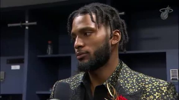 Postgame: Justise Winslow (4/10/19)