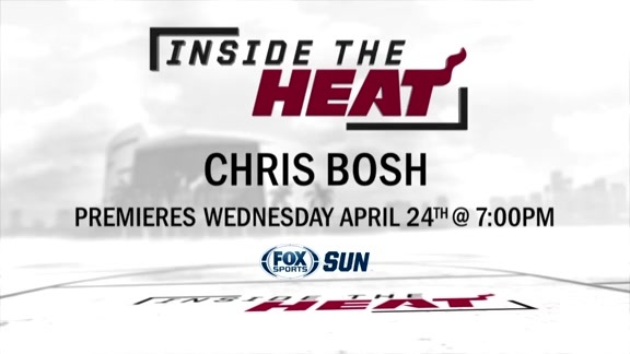 Inside the HEAT: Chris Bosh Teaser