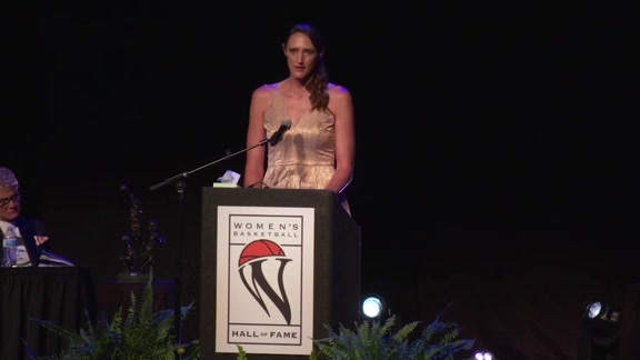 Ruth Riley Hall of Fame Speech