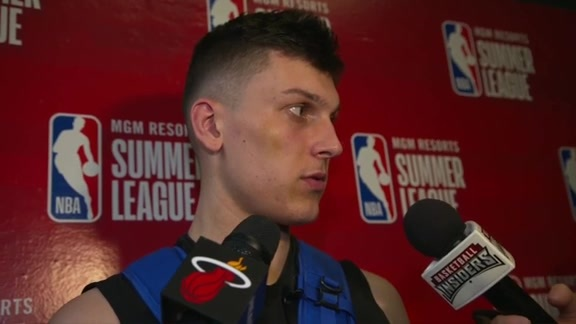 Summer League Postgame: Tyler Herro (7/5/19)