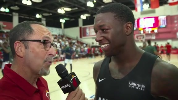 Summer League: Eric Reid 1-on-1 with Kendrick Nunn (7/9/19)