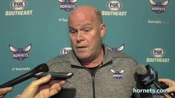 Head Coach Steve Clifford Press Conference - 1/12/18