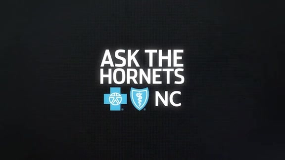 Ask the Hornets Blue Cross and Blue Shield of North Carolina | Greatest Invention - 1/17/18