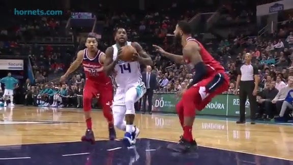 Hornets Highlights | Michael Kidd-Gilchrist vs Wizards - 1/17/18
