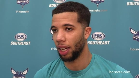 Hornets Practice | Michael Carter-Williams - 1/21/18