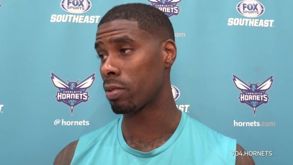 Hornets Practice | Marvin Williams - 1/21/18