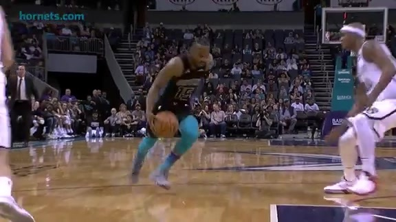 Hornets Highlights | Kemba Walker vs Nets - 2/22/18