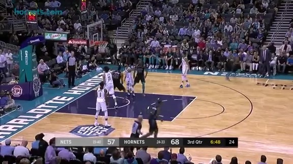 Hornets Highlights | Dwight Howard vs Nets - 2/22/18