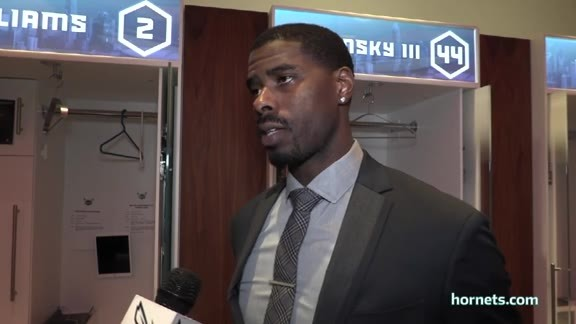 Hornets Postgame | Marvin Williams - 2/22/18