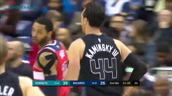 Hornets Highlights | Frank Kaminsky - 2/23/18