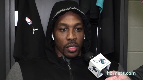 Hornets Shootaround | Dwight Howard - 3/15/18