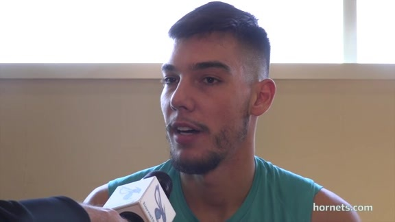 Hornets Practice | Willy Hernangomez - 3/18/18