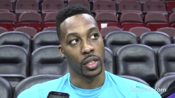 Hornets Shootaround | Dwight Howard - 3/19/18