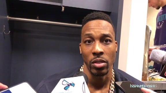 Hornets Postgame | Dwight Howard - 3/21/18
