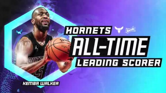 Kemba Walker | Hornets All-Time Leading Scorer - 3/28/18