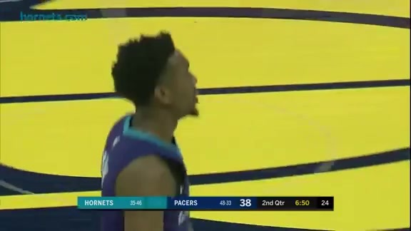Hornets Highlights | Malik Monk vs Pacers - 4/10/18