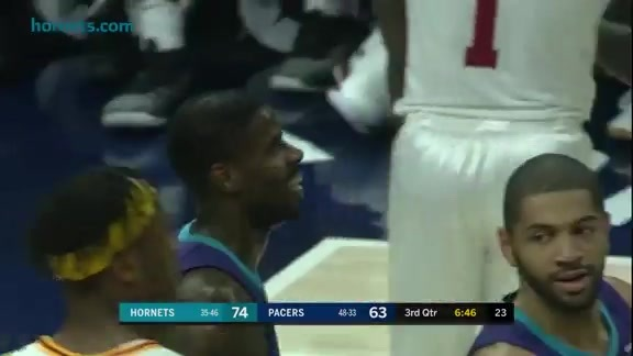 Hornets Highlights | Marvin Williams vs Pacers - 4/10/18