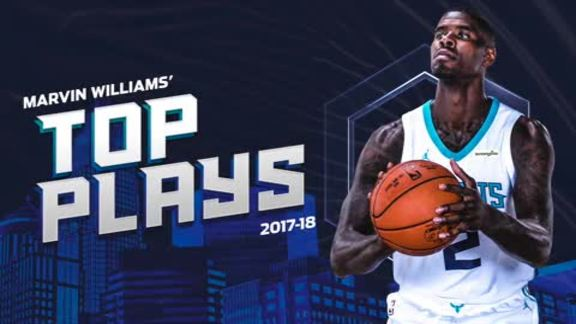 2017-18 Top Plays | Marvin Williams - 4/30/18