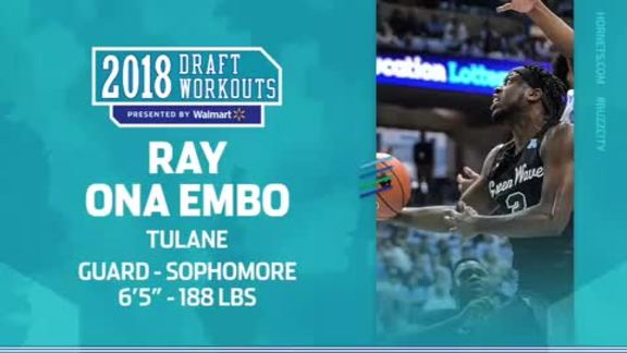 2018 Draft Workouts | Ray Ona Embo - 5/25/18