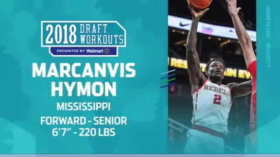 2018 Draft Workouts | Marcanvis Hymon - 5/25/18