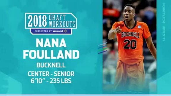 2018 Draft Workouts | Nana Foulland   6/10/18 | Charlotte Hornets