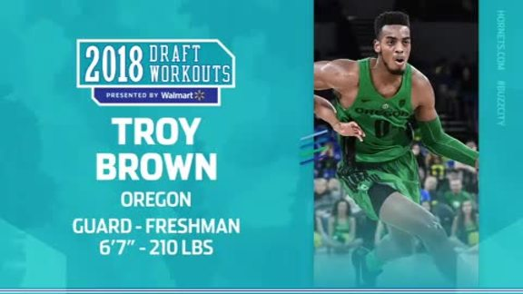 2018 Draft Workouts | Troy Brown - 6/17/18
