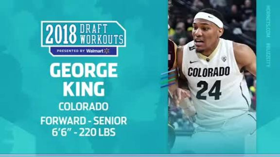 2018 Draft Workouts | George King - 6/17/18