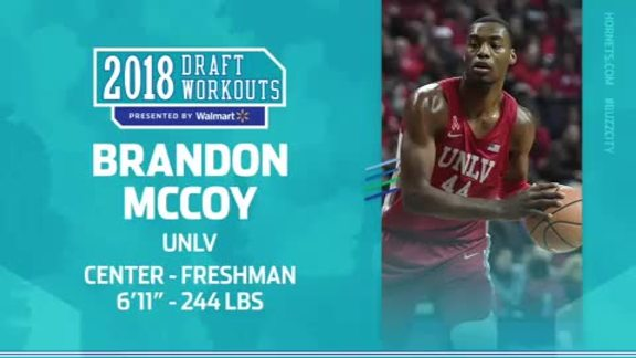2018 Draft Workouts | Brandon McCoy - 6/17/18