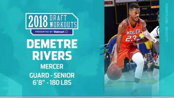 2018 Draft Workouts | Demetre Rivers - 6/17/18
