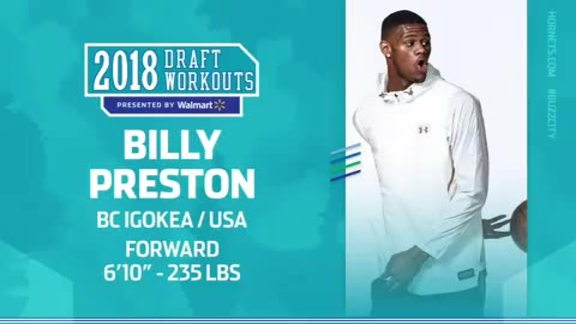 2018 Draft Workouts | Billy Preston - 6/17/18
