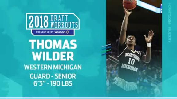 2018 Draft Workouts | Thomas Wilder - 6/17/18